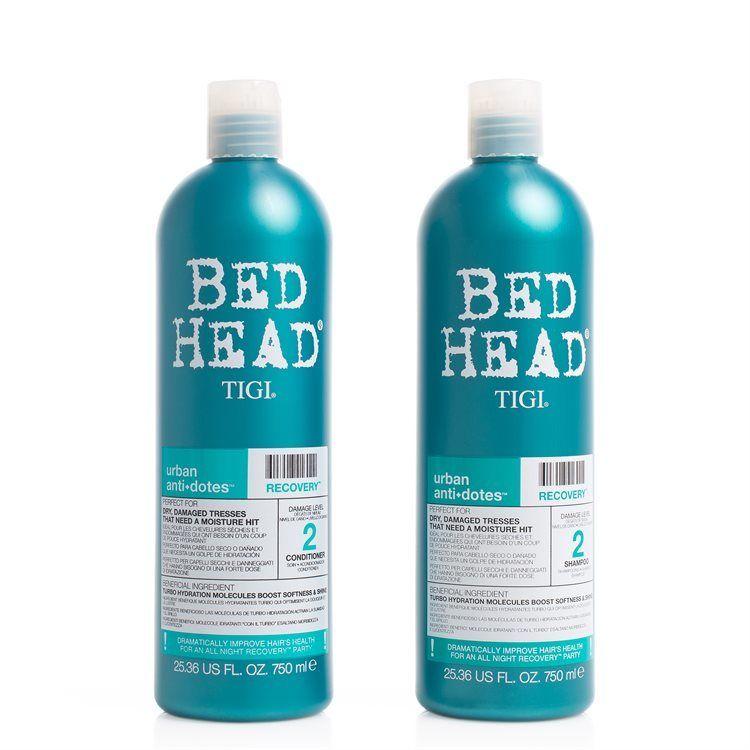 TIGI Bed Head Urban Antidotes Recovery Shampoo & Conditioner (2 x 750 ml)