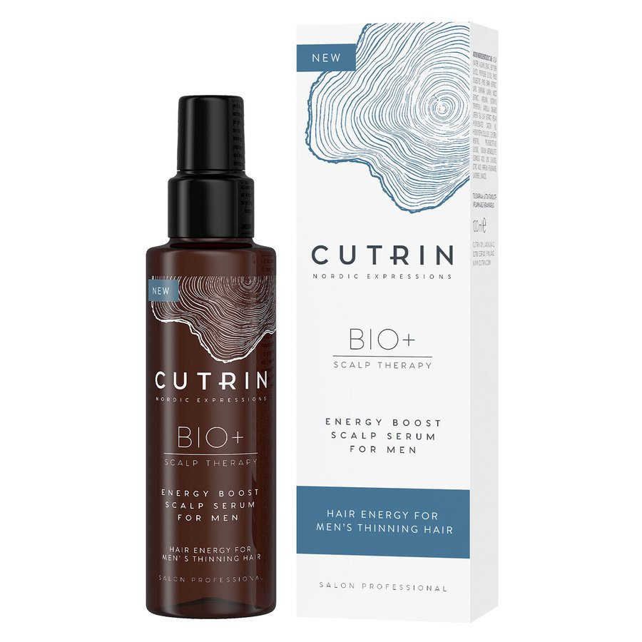 Cutrin BIO+ Energy Boost Scalp Serum for Men 100ml