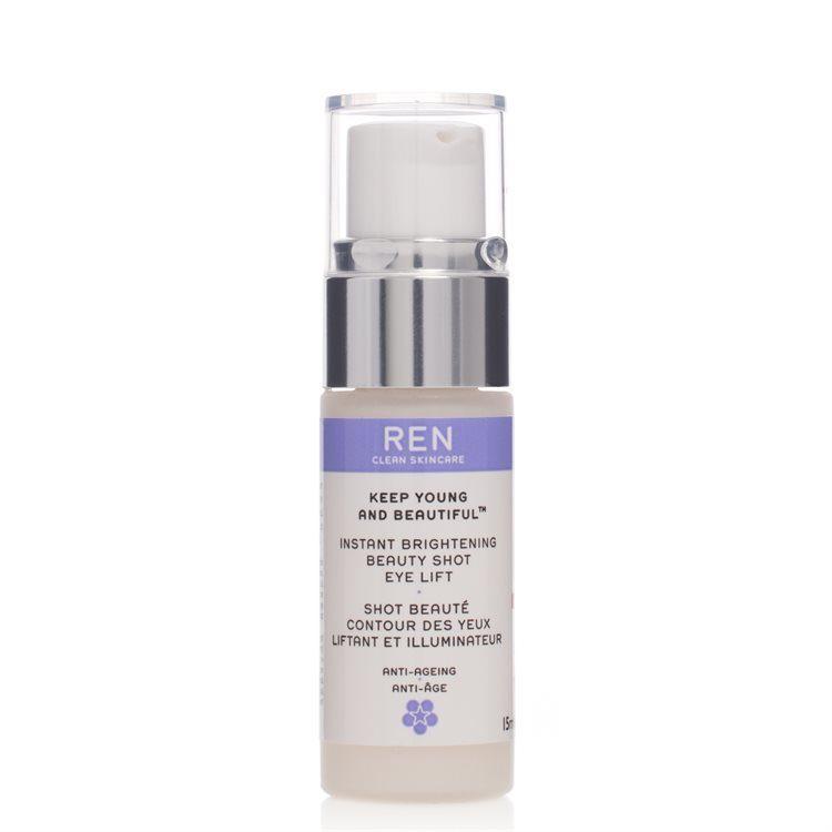 REN Instant Brightening Beauty Shot Eye Lift Augenserum (15 ml)