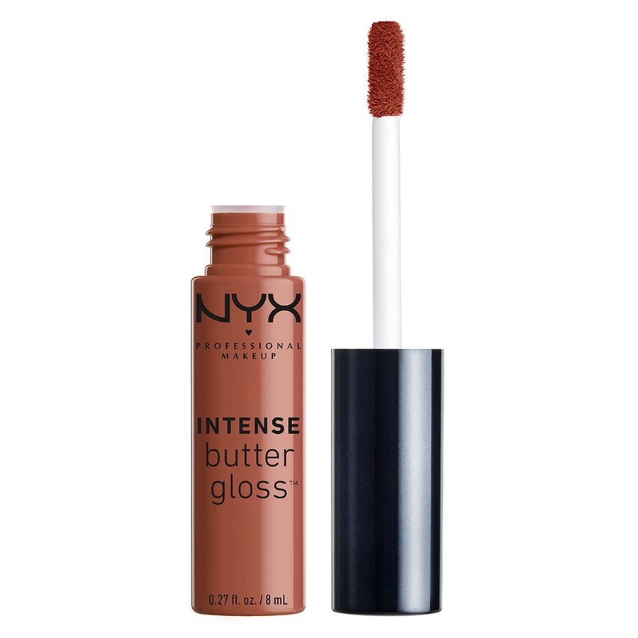 NYX Professional Makeup Intense Gloss Butter (8 ml), Chocolate Crepe