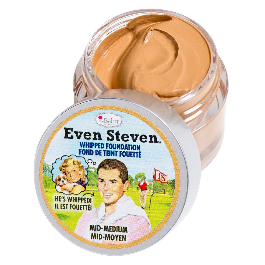 theBalm Even Steven Whipped Foundation Mid/Medium 13,4ml