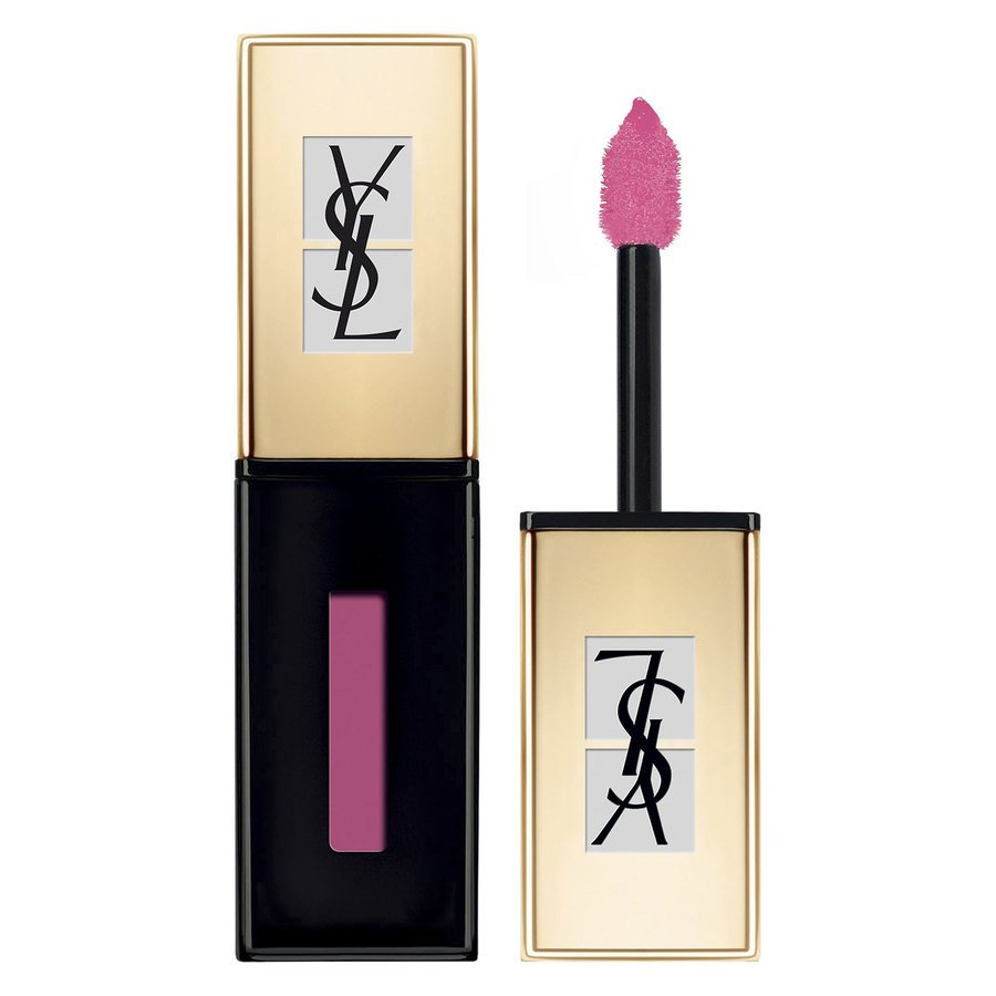 Yves Saint Laurent Vernis à Lèvres Glossy Stain Pop Water Lipstick #205 Pink Rain