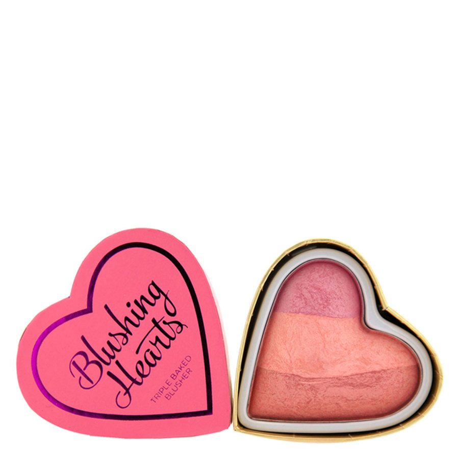 Makeup Revolution I Heart Makeup Hearts Blusher, Candy Queen of Hearts