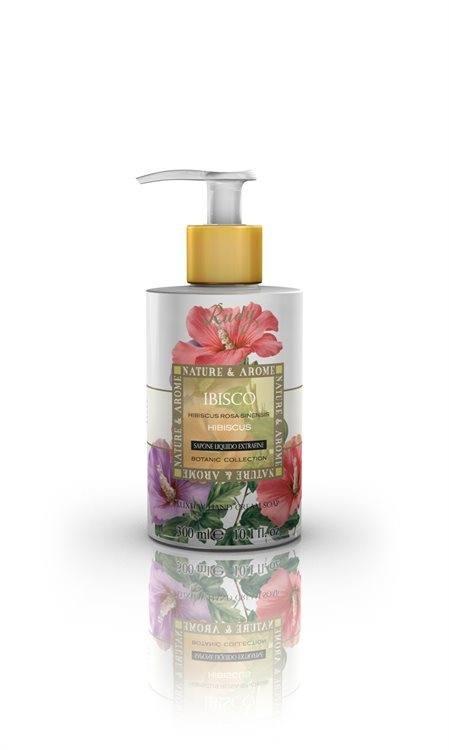 Nature & Aroma Luxury Hand Cream Soap Flüssigseife, Hibiscus (300 ml)