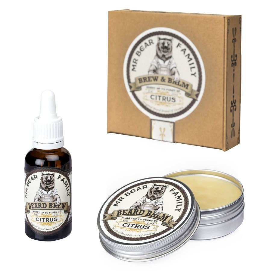 Mr Bear Family Brew & Balm Citrus