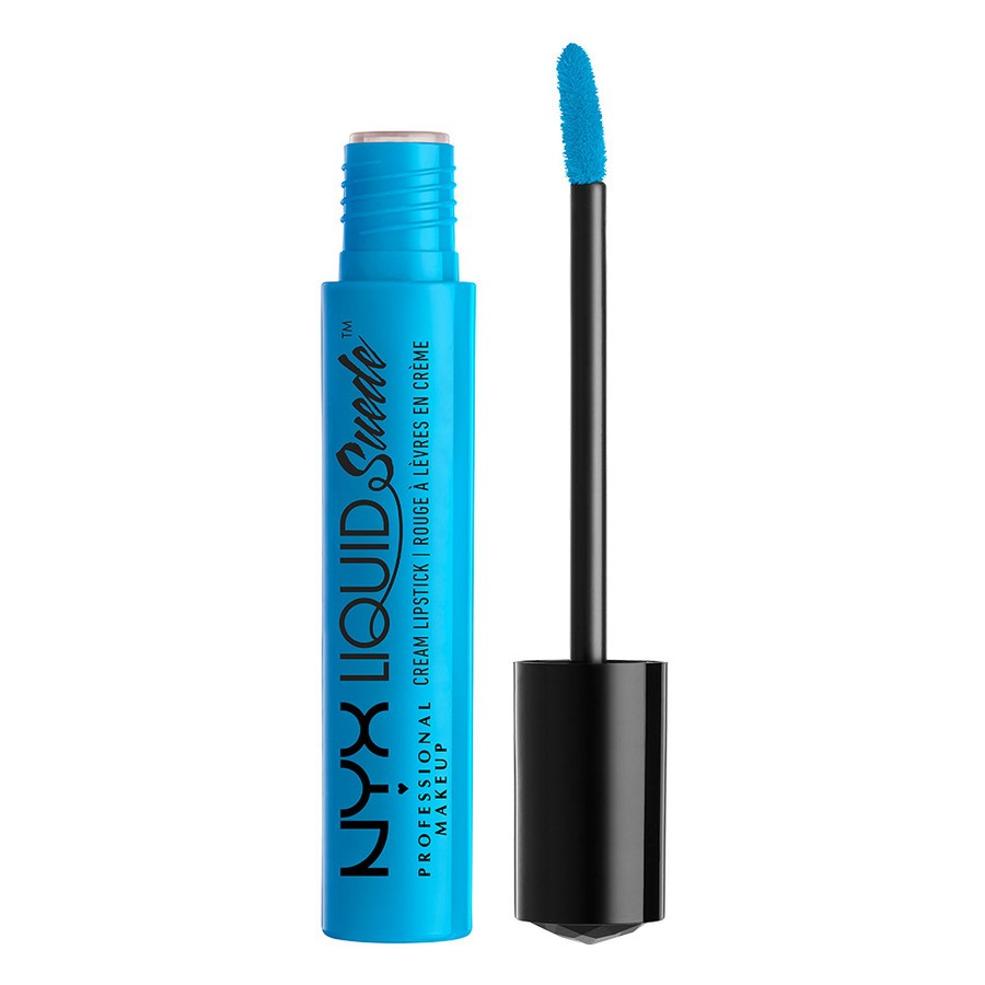 NYX Prof. Makeup Liquid Suede Cream Lipstick Denim Dress