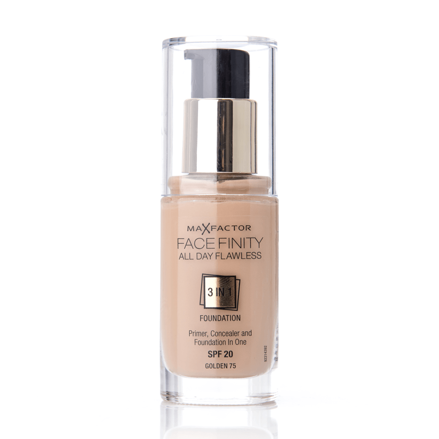 Max Factor Facefinity 3 In 1 Foundation (30 ml), 75 Golden