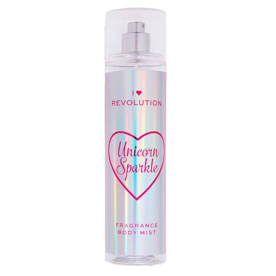 Makeup Revolution I Heart Revolution Unicorn Sparkle Body Mist (236 ml)