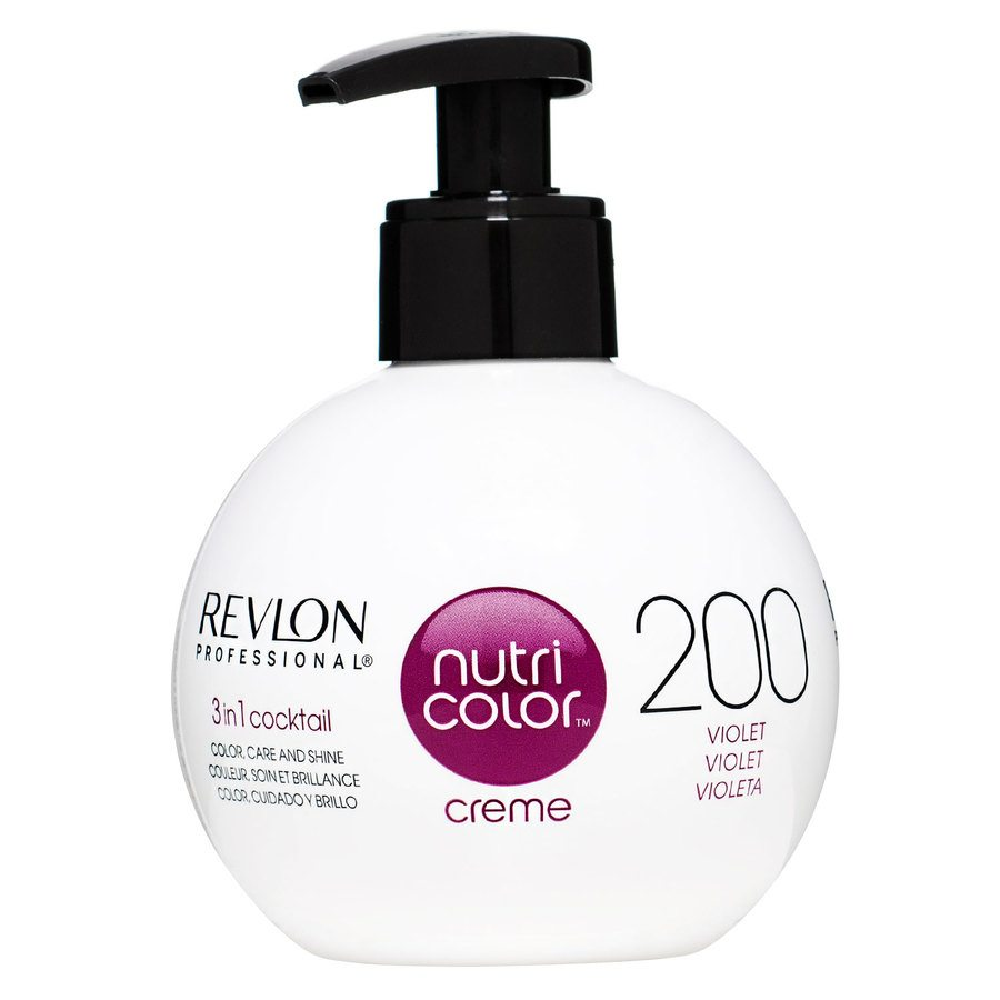 Revlon Professional Nutri Color Creme, #200 Burgundy (270 ml)