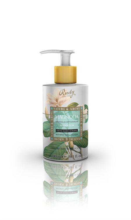Nature & Aroma Luxury Hand Cream Soap Seife, Magnolia (300 ml)