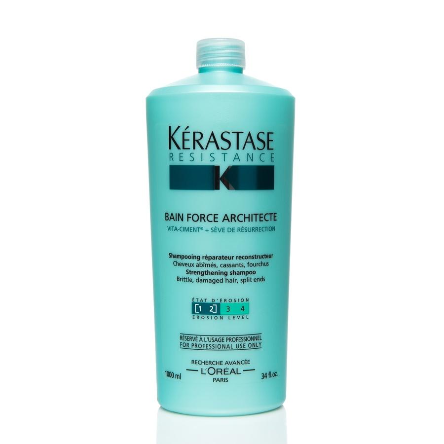 Kérastase Resistance Bain Force Architecte Shampoo (1000 ml)