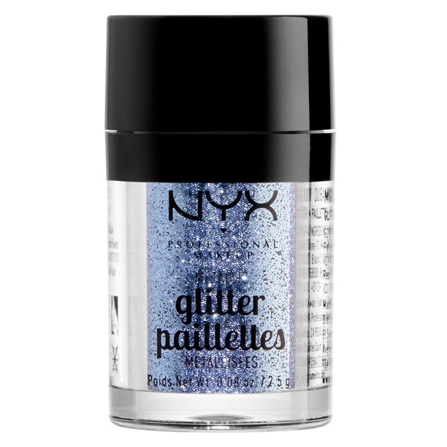 NYX Professional Makeup Metallic Glitter, Darkside