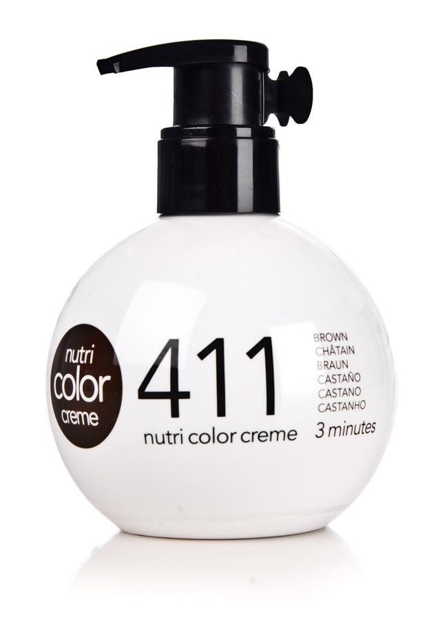 Revlon Professional Nutri Color Creme (250 ml), #411 Brown