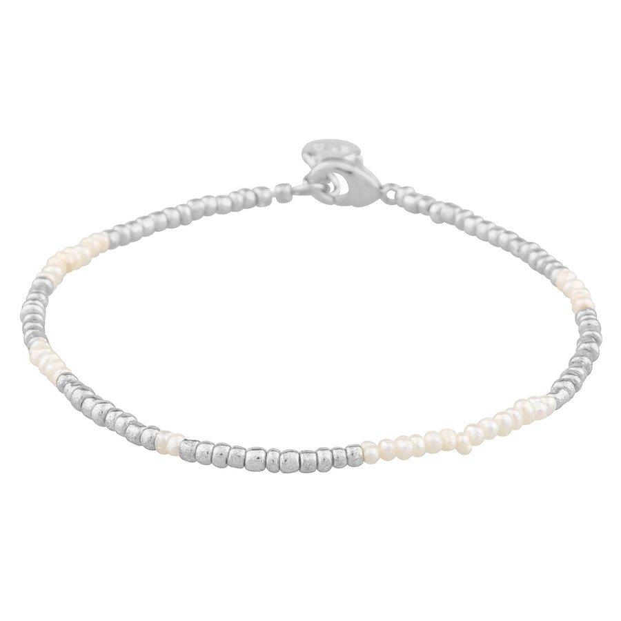 SNÖ of Sweden Penny Small Brace silver/White