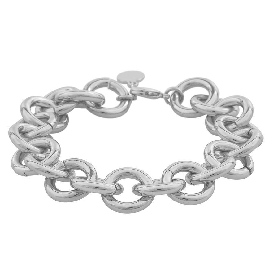 Snö Of Sweden Linked Chain Bracelet, Silver