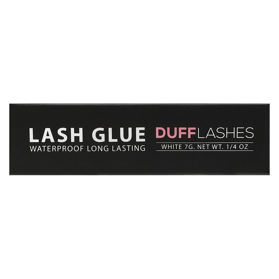 DUFF Lashes Glue Waterproof Long Lasting, White (7 g)