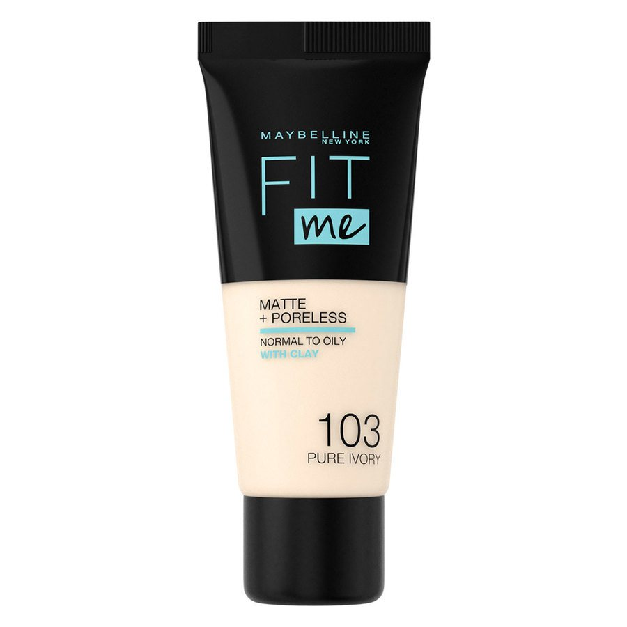 Maybelline Fit Me Matte + Poreless Foundation, Pure Ivory #103 30ml