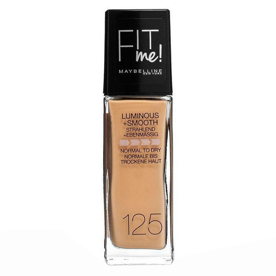 Maybelline Fit Me Liquid Foundation, Nude Beige 125 (30 ml)