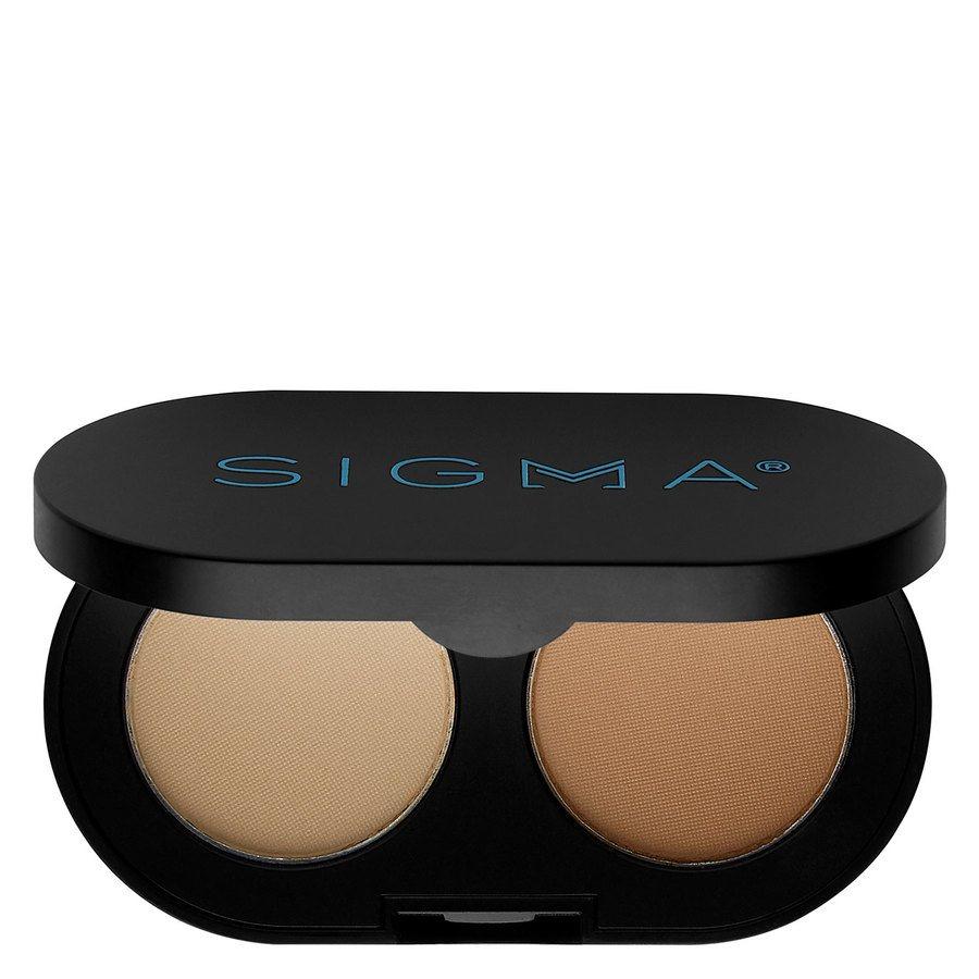 Sigma Color And Shape Brow Powder Duo, Light (3 g)