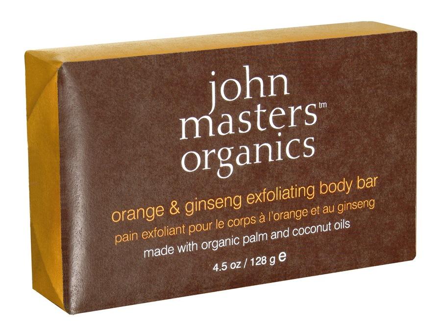 John Masters Organic Orange & Ginseng Exfoliating Body Bar (128 g)