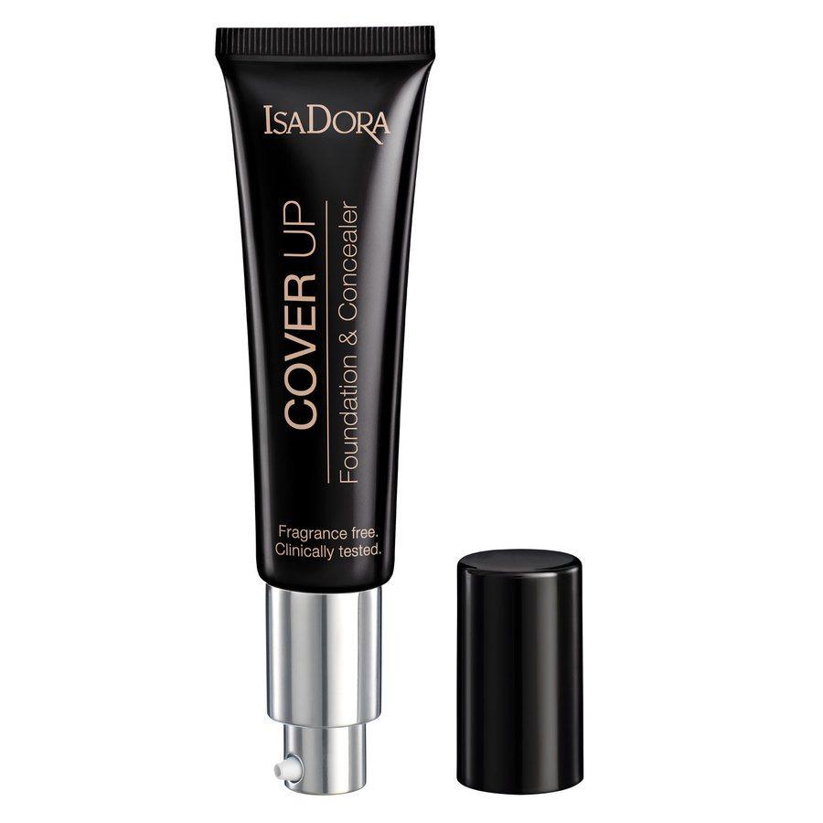 IsaDora Cover Up Foundation & Concealer, 60 Light Cover (35 ml)