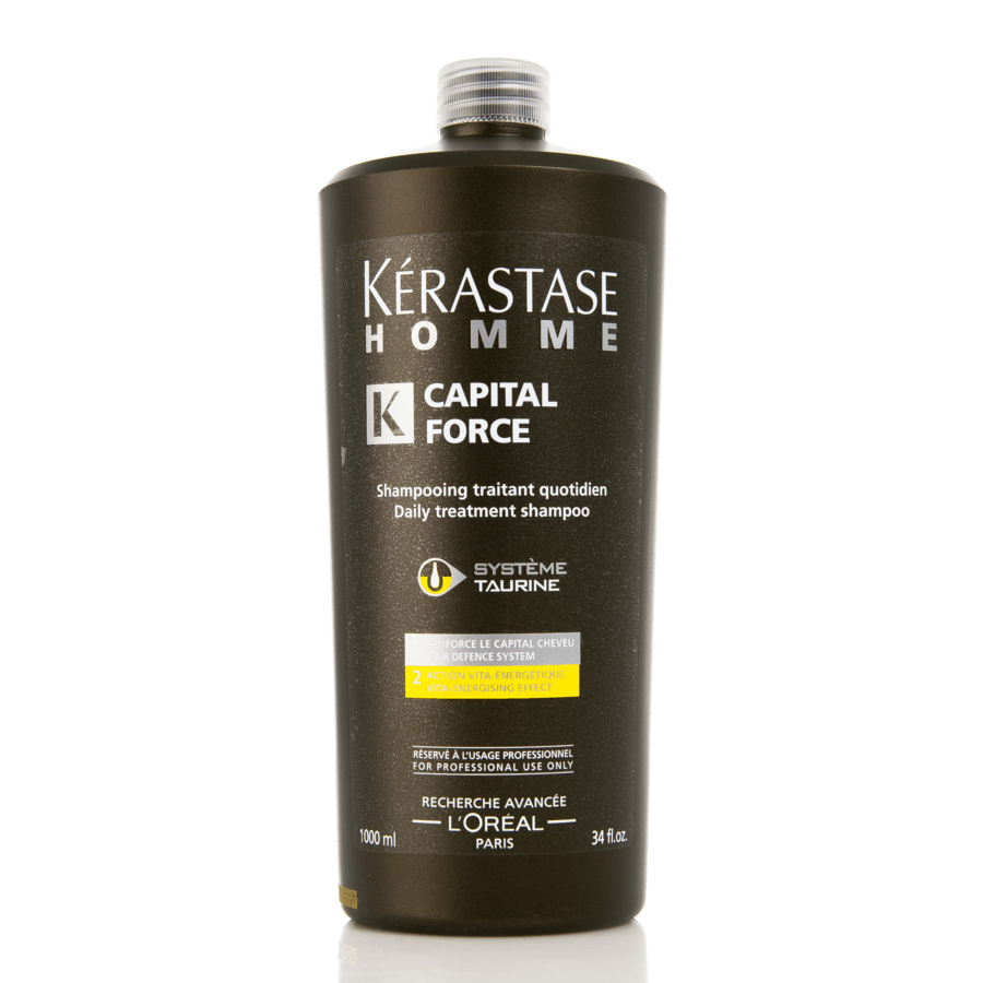 Kérastase Homme Capital Force Daily Treatment Energetique Shampoo (1000 ml)