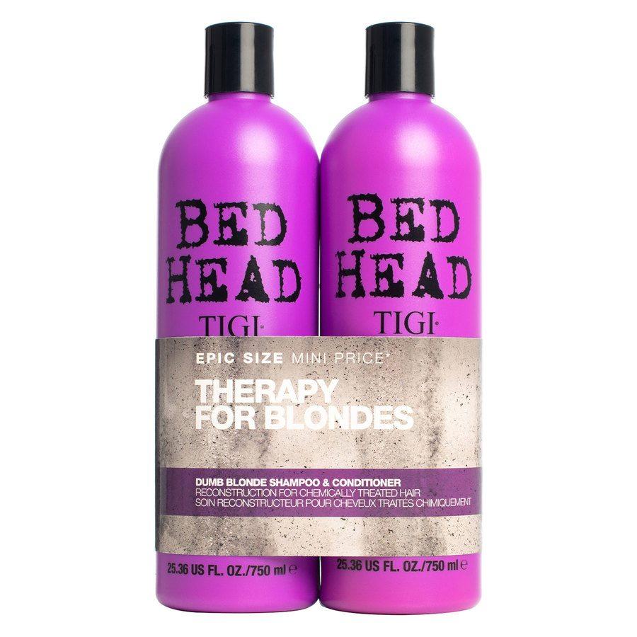 TIGI Bedhead Dumb Blonde Shampoo and Conditioner Duo (2 x 750 ml)