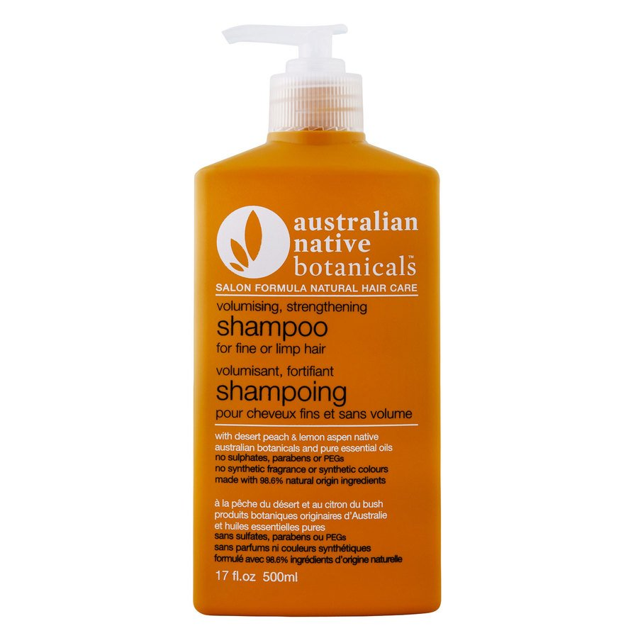 Australian Native Botanicals Shampoo - Fine / Limp Hair 500ml