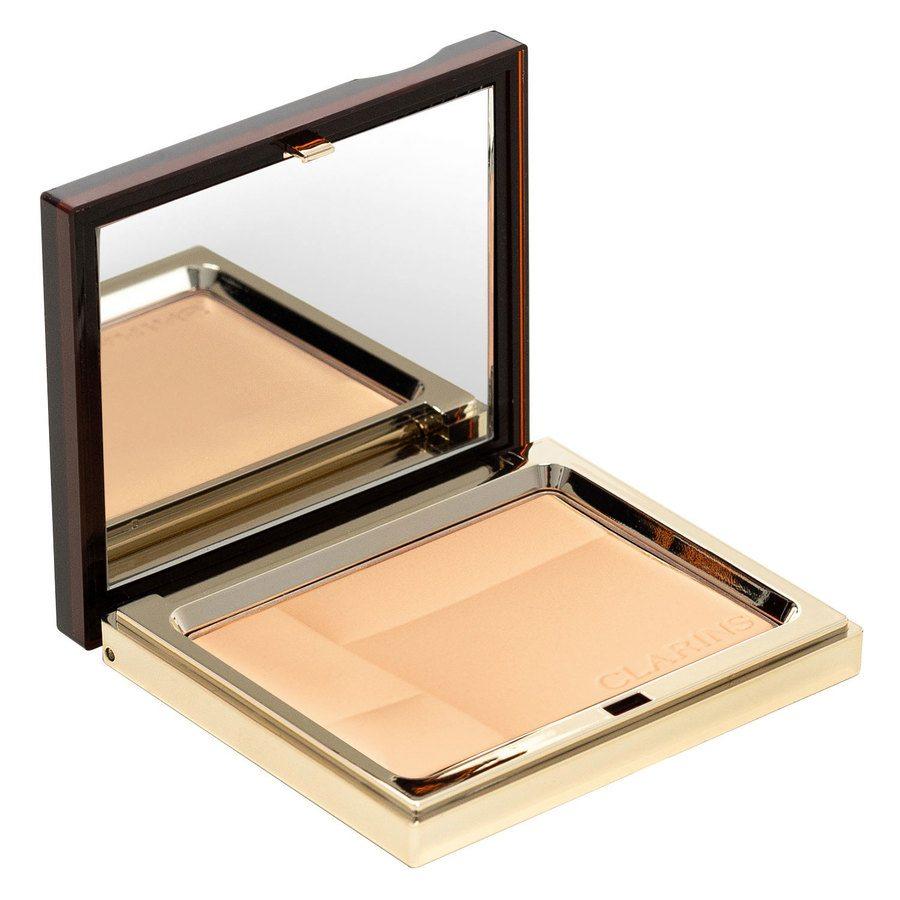 Clarins Ever Matte Mineral Powder Compact, # 02 Transparent Medium (10g)