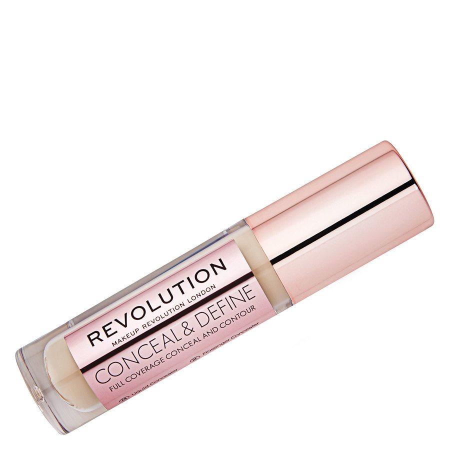 Makeup Revolution Conceal And Define Concealer, C4 4g