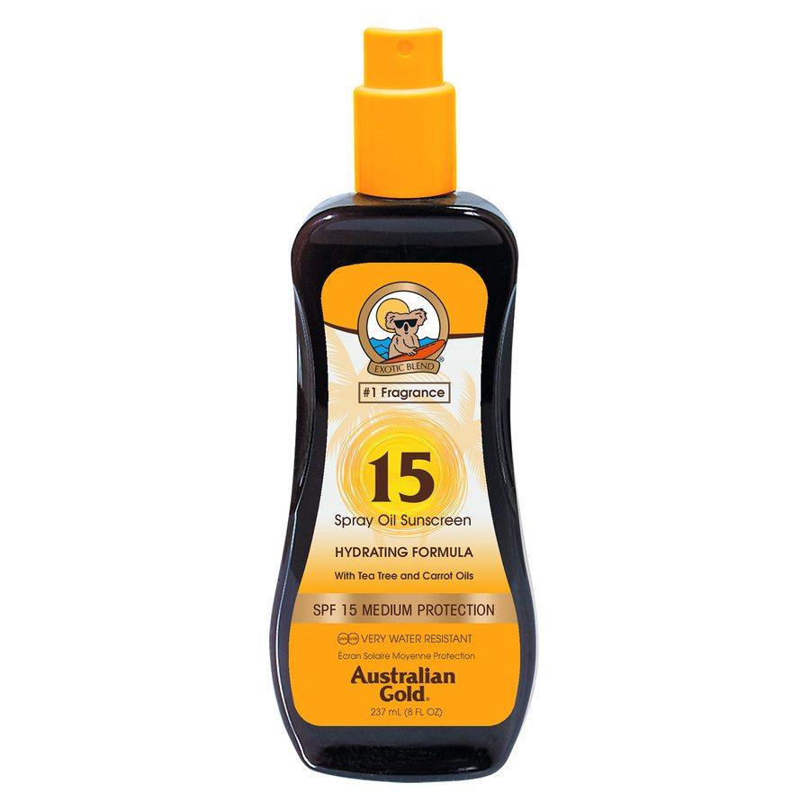 Australian Gold Carrot Intensifier Oil Spray, SPF 15 237ml