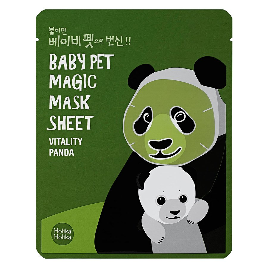 Holika Holika Baby Pet Magic Mask Sheet, Panda (22 ml)