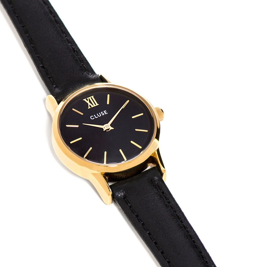 CLUSE Leave Vedette, Gold Black CL50012 (24 mm)
