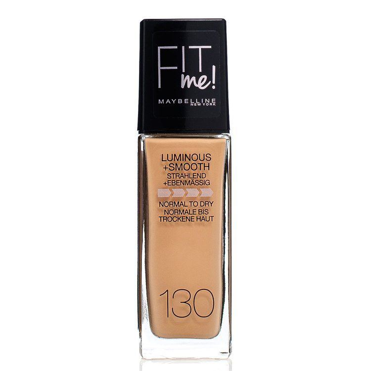 Maybelline Fit Me Liquid Foundation, Buff Beige 130 (30 ml)