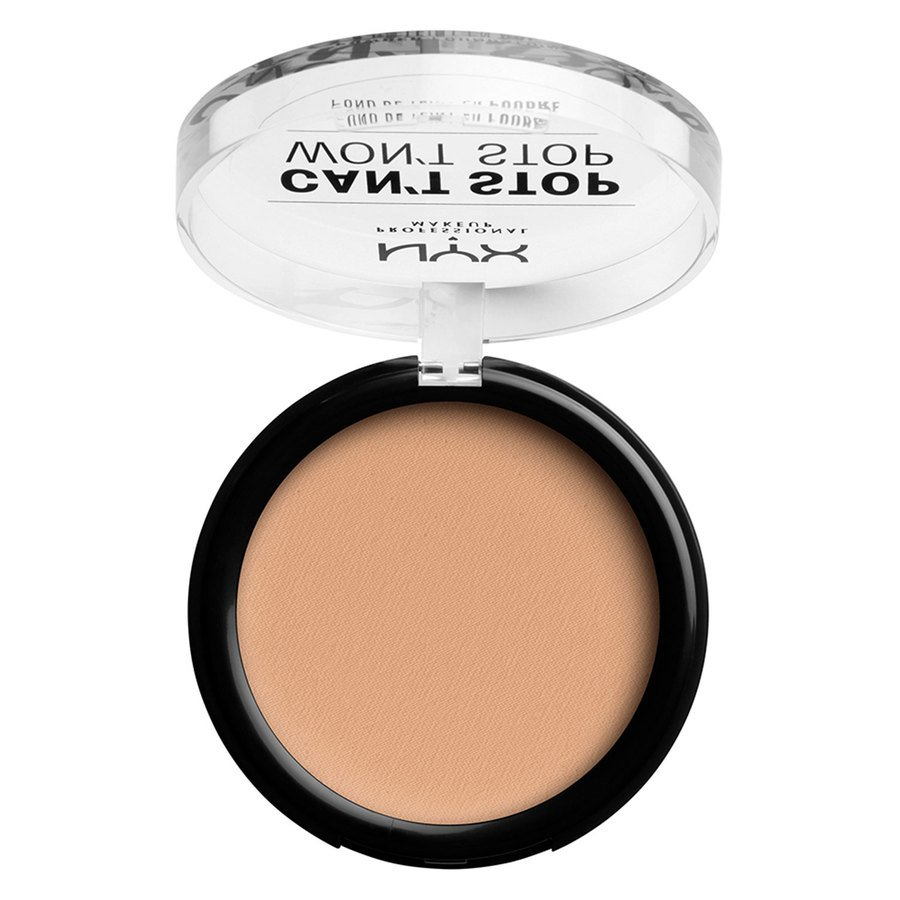 NYX Professional Makeup Can't Stop Won't Stop Powder Foundation #07 Natural 10,7g