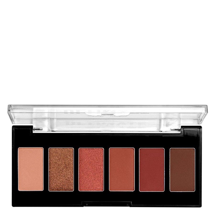 NYX Professional Makeup Ultimate Edit Petite Shadow Palette 7,2g, 01 Warm Neutrals