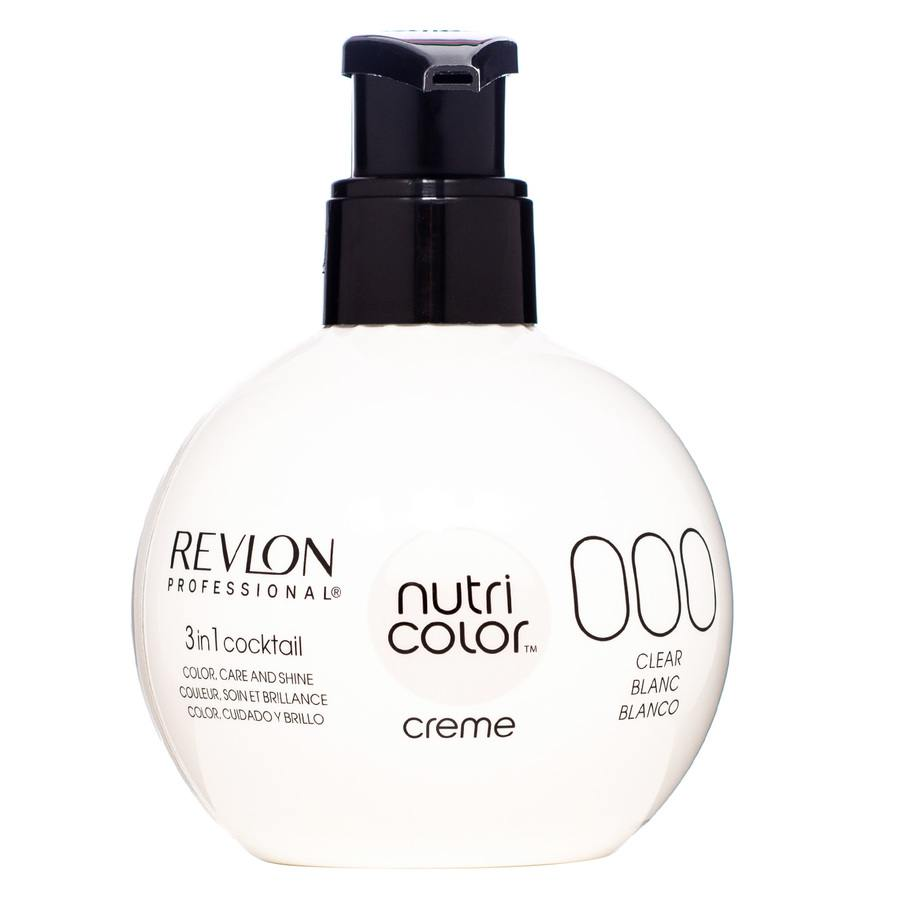 Revlon Professional Nutri Color Creme, White #000 (270ml)