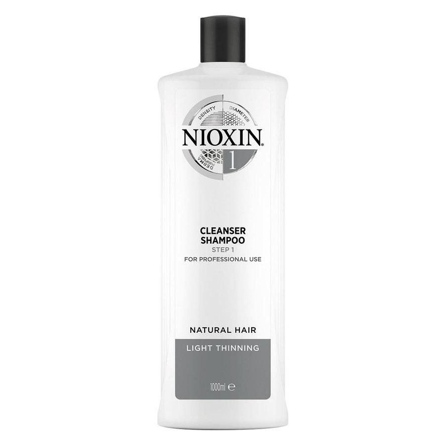 Nioxin System 1 Cleanser Shampoo (1000 ml)