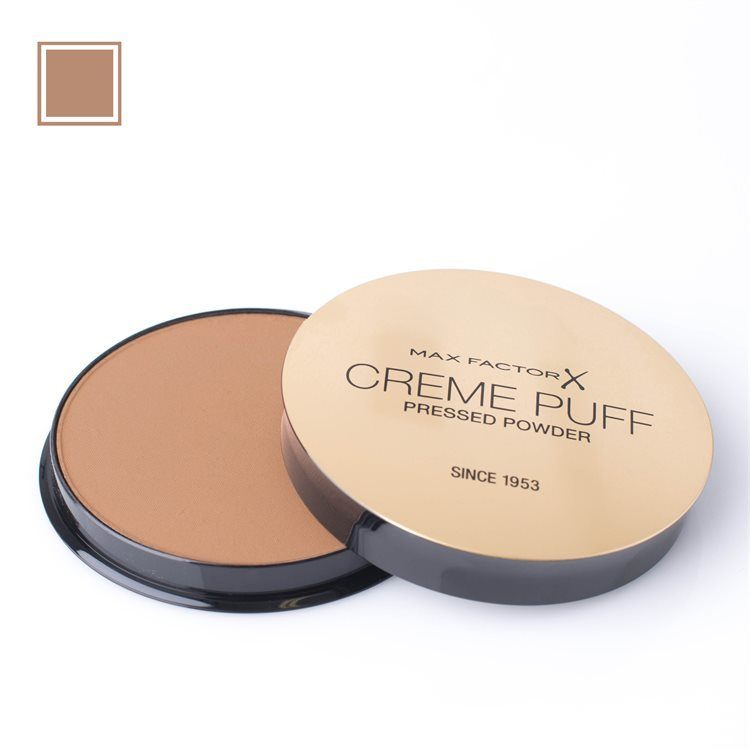 Max Factor Creme Puff Pressed Powder (21 g), 42 Deep Beige