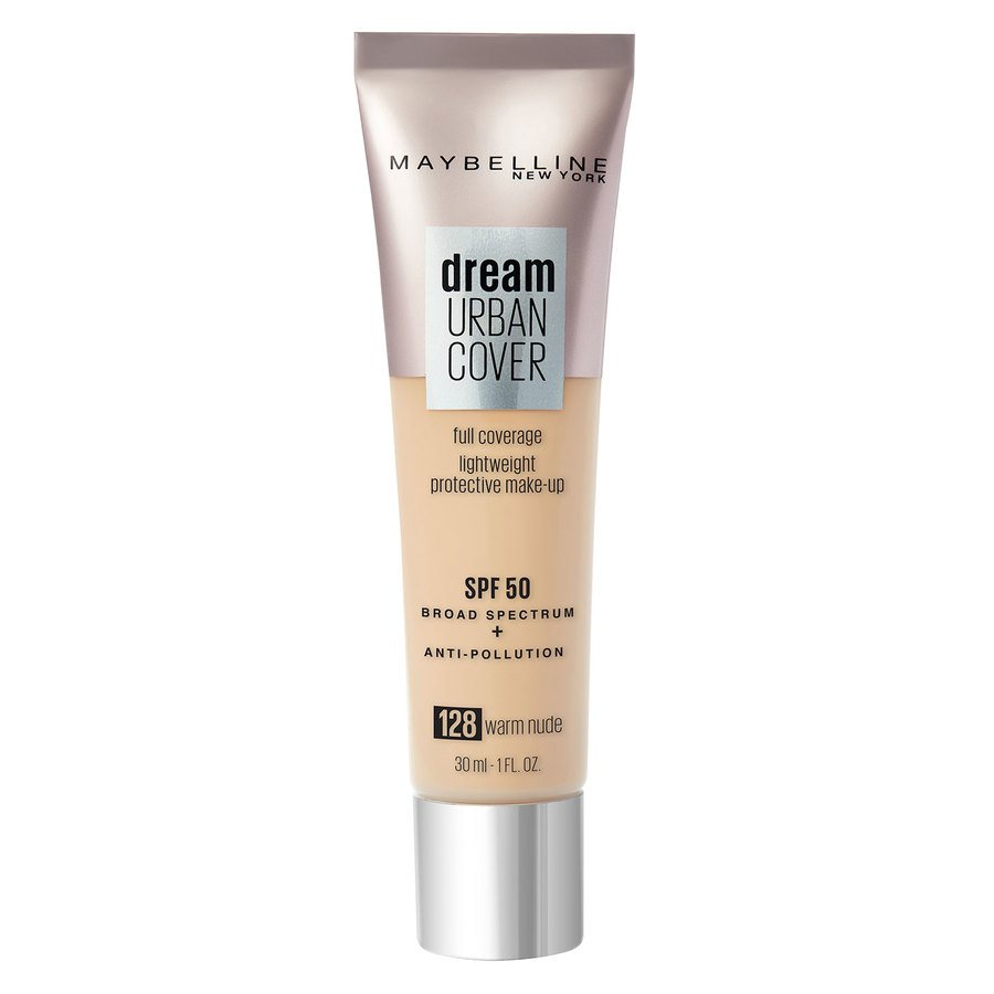 Maybelline Dream Urban Cover, #128 Warm Nude (30 ml)