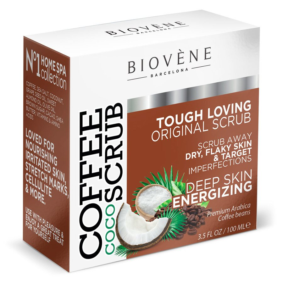 Biovène Coffee Coco Scrub Body and Face Scrub 100ml