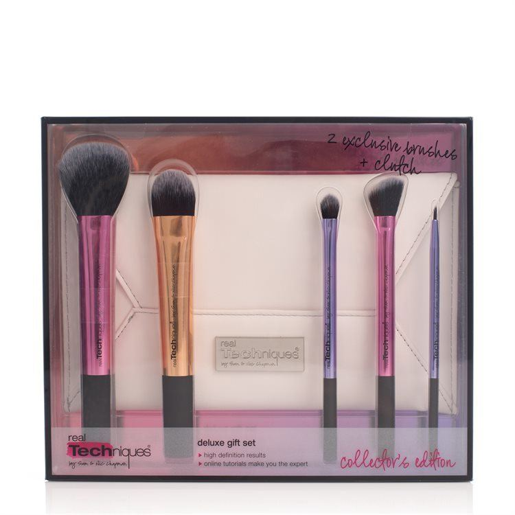 Real Techniques Deluxe Gift Set Collector's Edition, 5 Teile