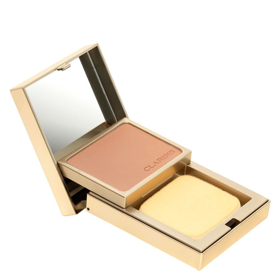 Clarins Everlasting Compact Foundation +, # 112 Amber (10g)
