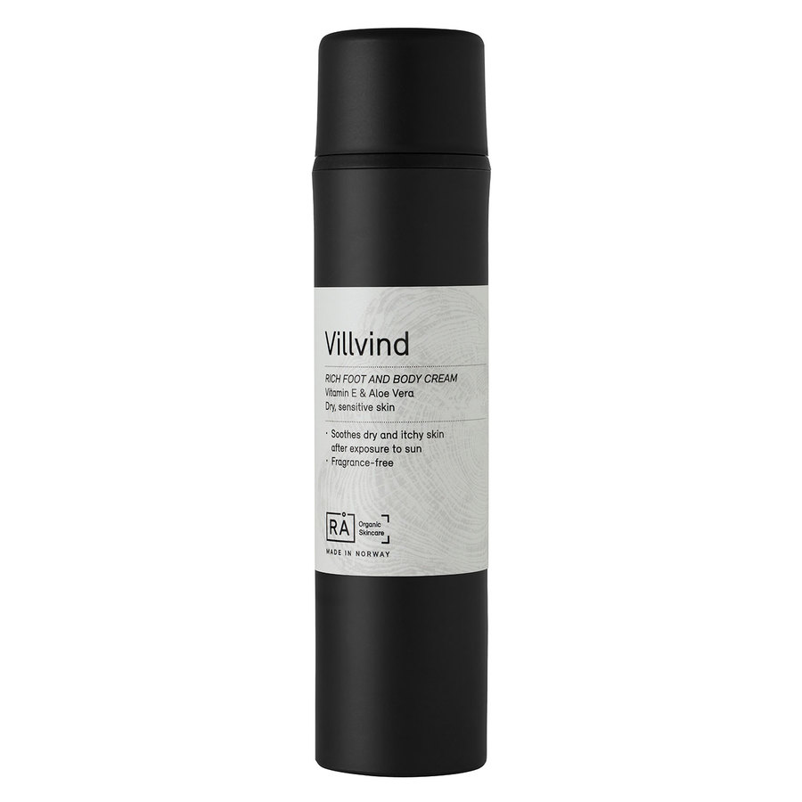 RÅ Organic Skincare Villvind Rich Foot And Body Lotion (150 ml)