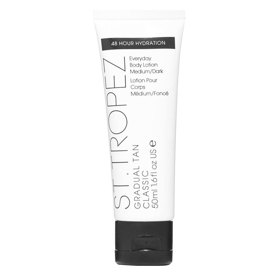 St. Tropez Gradual Tan Classic Everyday Body Lotion, Medium/Dark (50 ml)