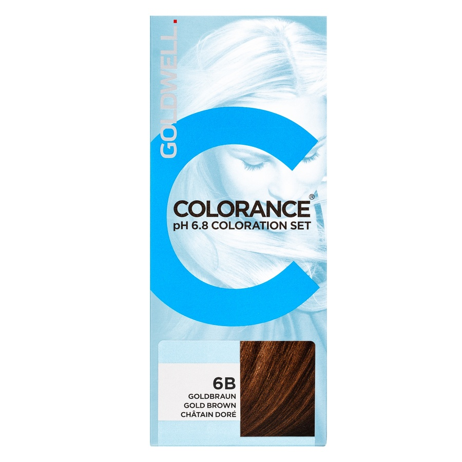 Goldwell Colorance pH 6.8 Coloration, Set 6B Gold Brown (90 ml)