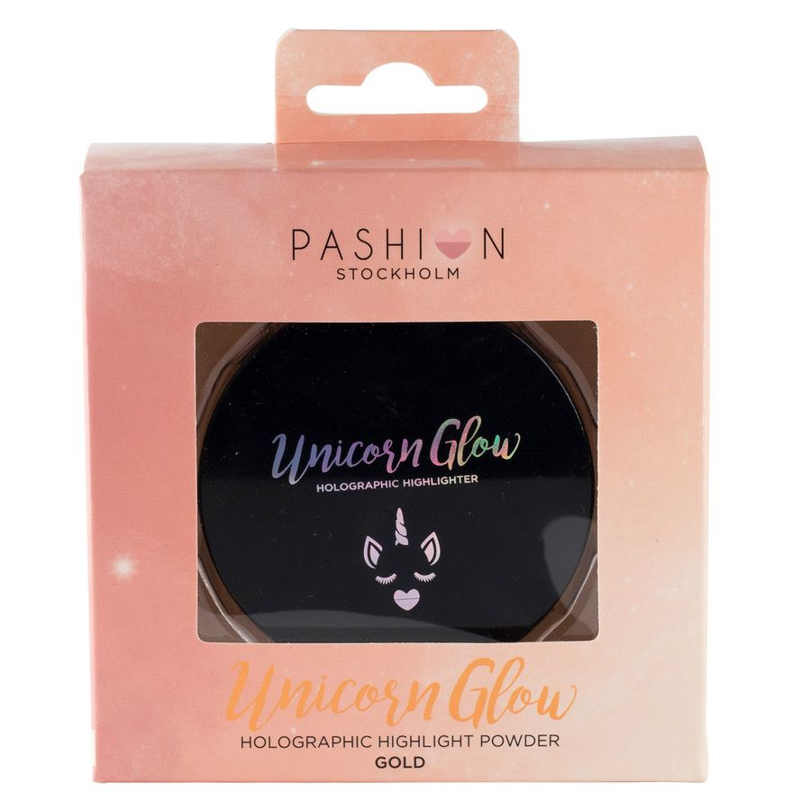 Pashion Unicorn Glow Holographic Powder, Gold