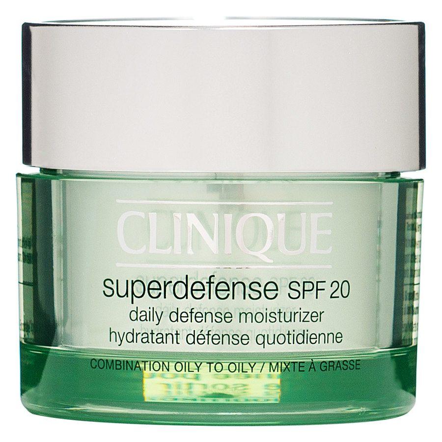 Clinique Superdefense SPF 20 Daily Defense Moisturizer Oily & Combination Skin (50 ml)