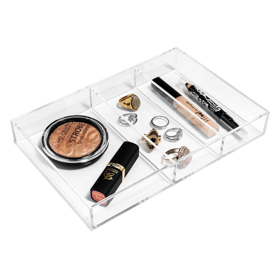Shela's Beauty-Aufbewahrungsbox mit drei Fächern