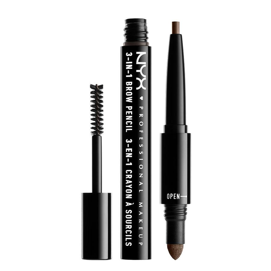 NYX Professional Makeup 3-In-1 Brow, Ash Brown 31B08